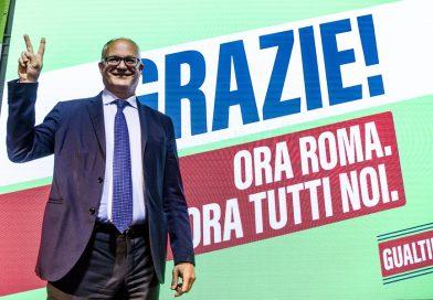 Roberto Gualtieri stravince, è il nuovo sindaco di Roma con il 60% dei consensi. Astensionismo al 40,68